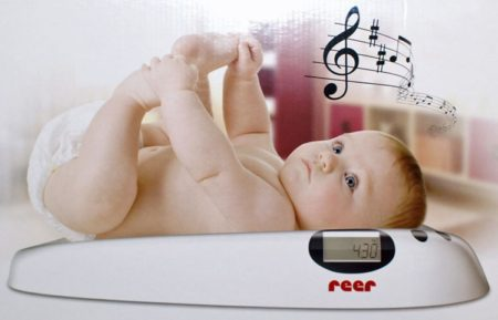 Детские весы REER с музыкой арт.6409