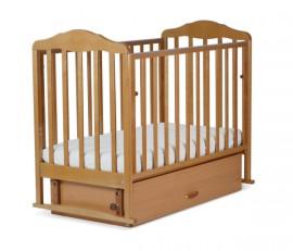 Кроватка детская СКВ Берёзка ящик (17200х)