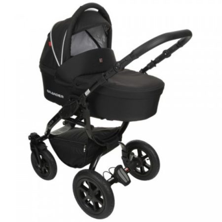 Детская коляска Tutek Grander Black 2 в 1