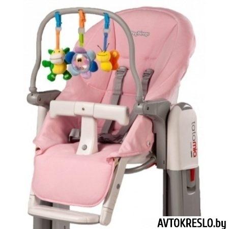 Peg Perego Tatamia Kit чехол для сиденья + дуга с игрушками, цвет Rosa