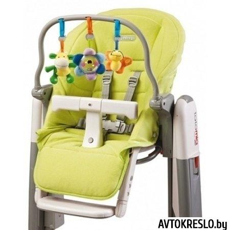 Peg Perego Tatamia Kit чехол для сиденья + дуга с игрушками, цвет Verde