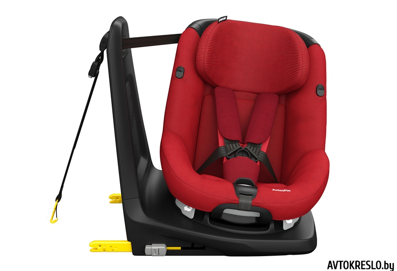 maxicosi carseat toddlercarseat axissfix turningposition1 2015 red robinred 3qrt group1 toddler isofix isize