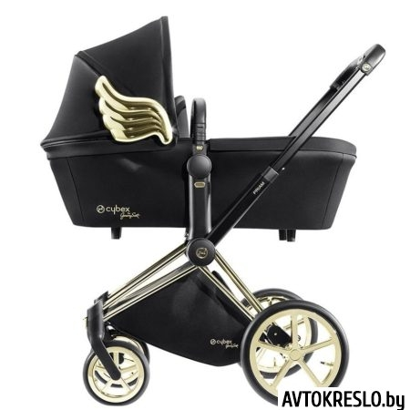 CYBEX PRIAM LUX by JS Wings black (2 в 1)