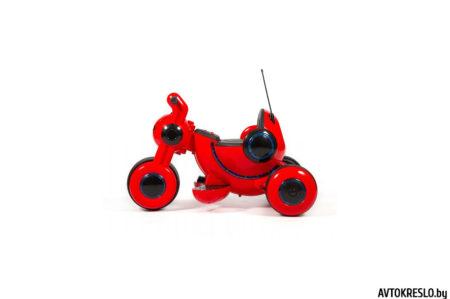 Детский электромобиль-мотоцикл Wingo MOTO Z LUX красный глянец