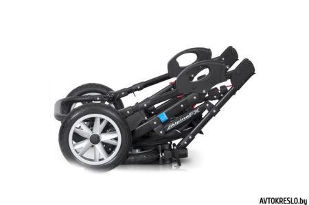 Детская коляска 2 в 1 X-LANDER X-PULSE (desert team) с сумкой