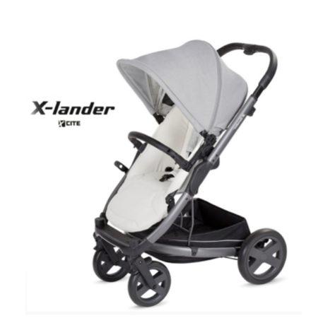 Прогулочная коляска X-LANDER X-CITE (morning grey/светло-серый)