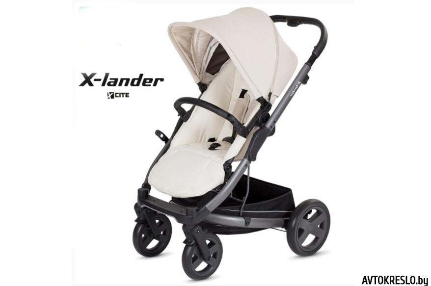 Прогулочная коляска X-LANDER X-CITE 2018 (daylight beige/бежевый)