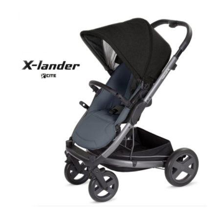 Прогулочная коляска X-LANDER X-CITE (carbon black)