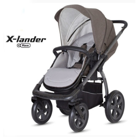 Прогулочная коляска X-LANDER X-MOVE evening grey/темно-серый