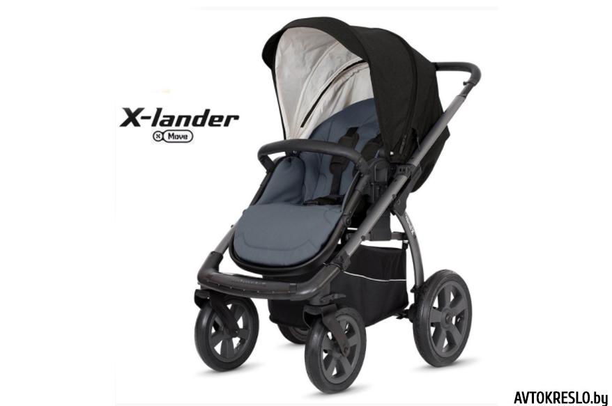 Прогулочная коляска X-LANDER X-MOVE lunar black/черный