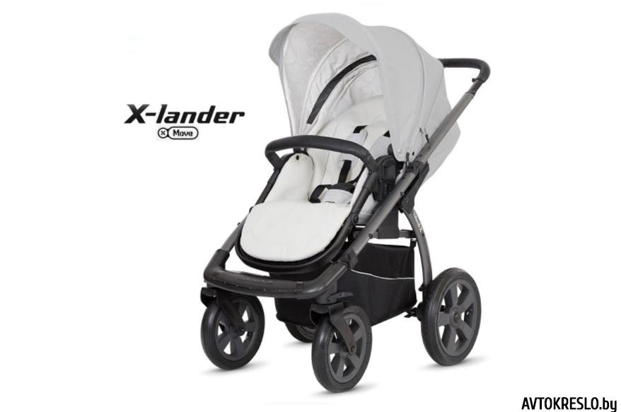 Прогулочная коляска X-LANDER X-MOVE morning grey/светло-серый
