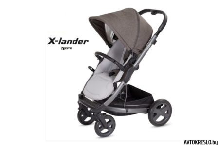 Прогулочная коляска X-LANDER X-CITE (evening grey/темно-серый)