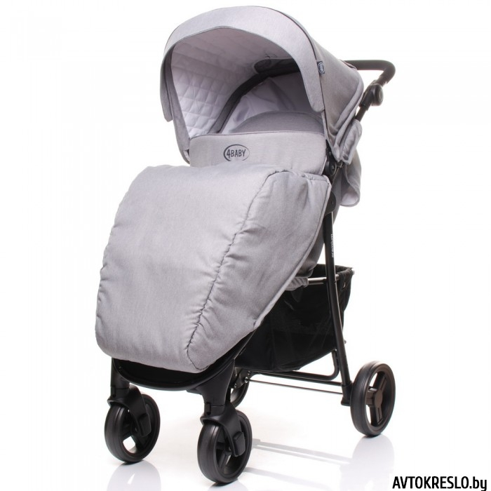 Коляска 4BABY RAPID Premium (light grey)