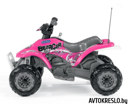 Детский квадроцикл Peg Perego CORRAL BEARCAT розовый
