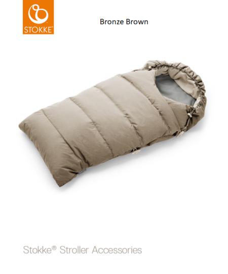 Пуховый Спальный Мешок для колясок Stokke Xplory, Crusi и Trailz
