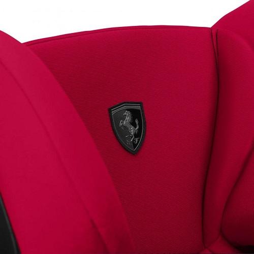 Cybex Pallas S-fix Scuderia Ferrari Racing Red