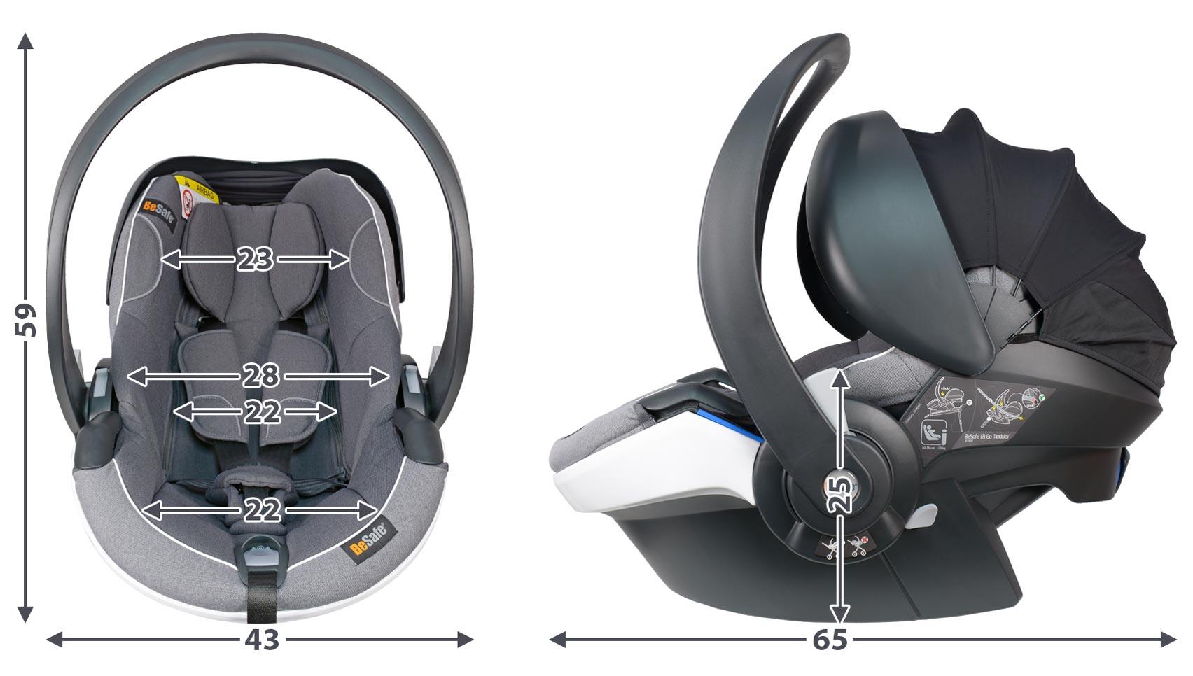 Автокресло BeSafe iZi Go Modular X1 i-Size