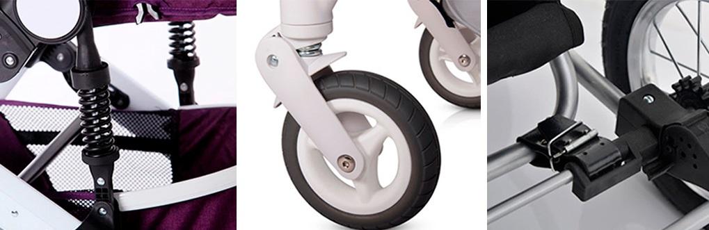 амортизация детской коляски